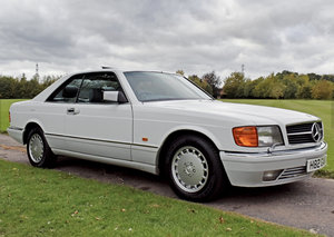 1990 1 Owner From New Mercedes 500 SEC For Sale