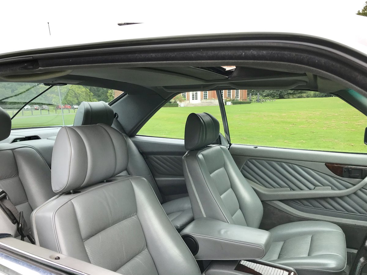1990 1 Owner From New Mercedes 500 SEC For Sale (picture 3 of 6)