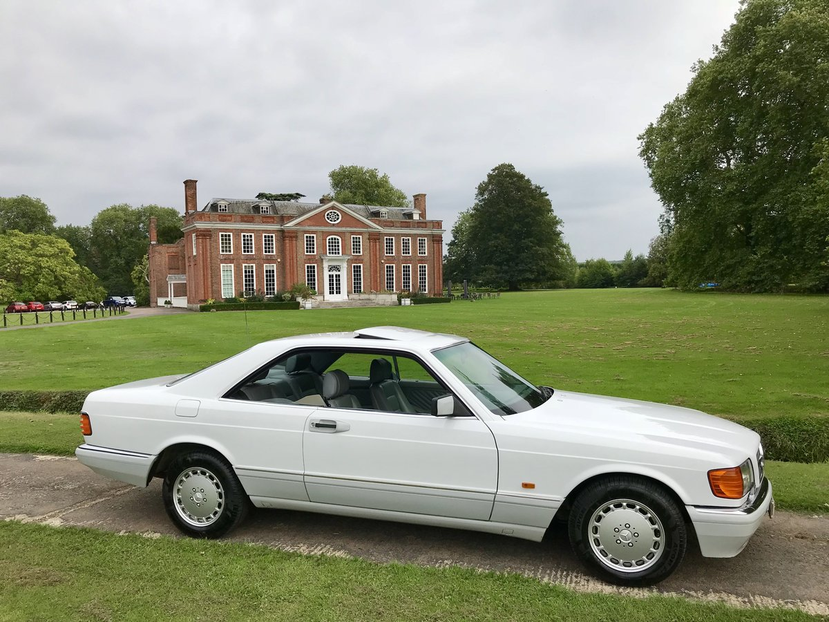 1990 1 Owner From New Mercedes 500 SEC For Sale (picture 4 of 6)