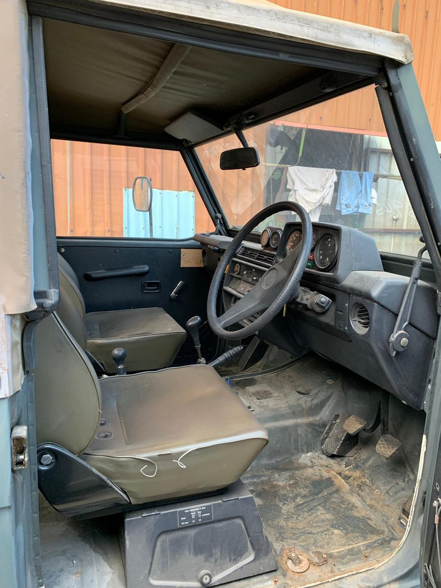 1994 MERCEDES MB290 GD GARGO TRUCK RHD DIESEL MANUAL For Sale (picture 6 of 6)