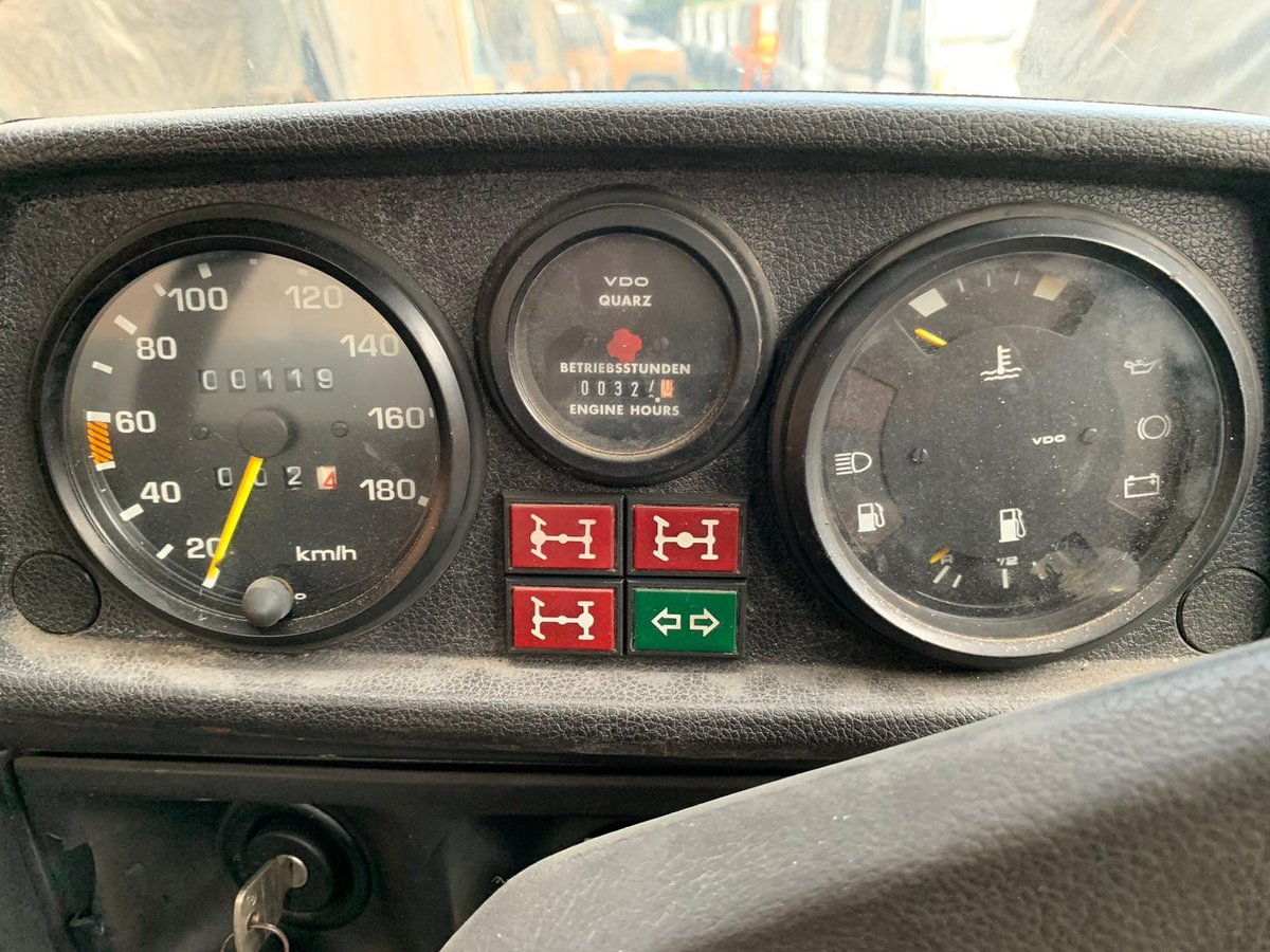 1994 MERCEDES MB290 GD GARGO TRUCK RHD DIESEL MANUAL For Sale (picture 5 of 6)