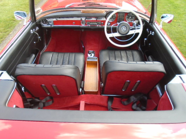 1965 Mercedes 230SL Pagoda, Fresh out of restoration. For Sale (picture 4 of 6)