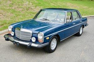 1974 Mercedes Benz 280 Sedan = Navy(~)Tan Auto 1 owner