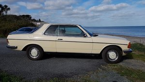 1986 Mercedes 230CE Pillar-less Sports Couple For Sale