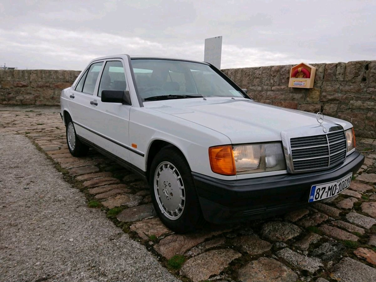 1987 Mercedes 190E 2.6 Manual 166 Bhp 91500 Miles FSH For Sale (picture 1 of 6)