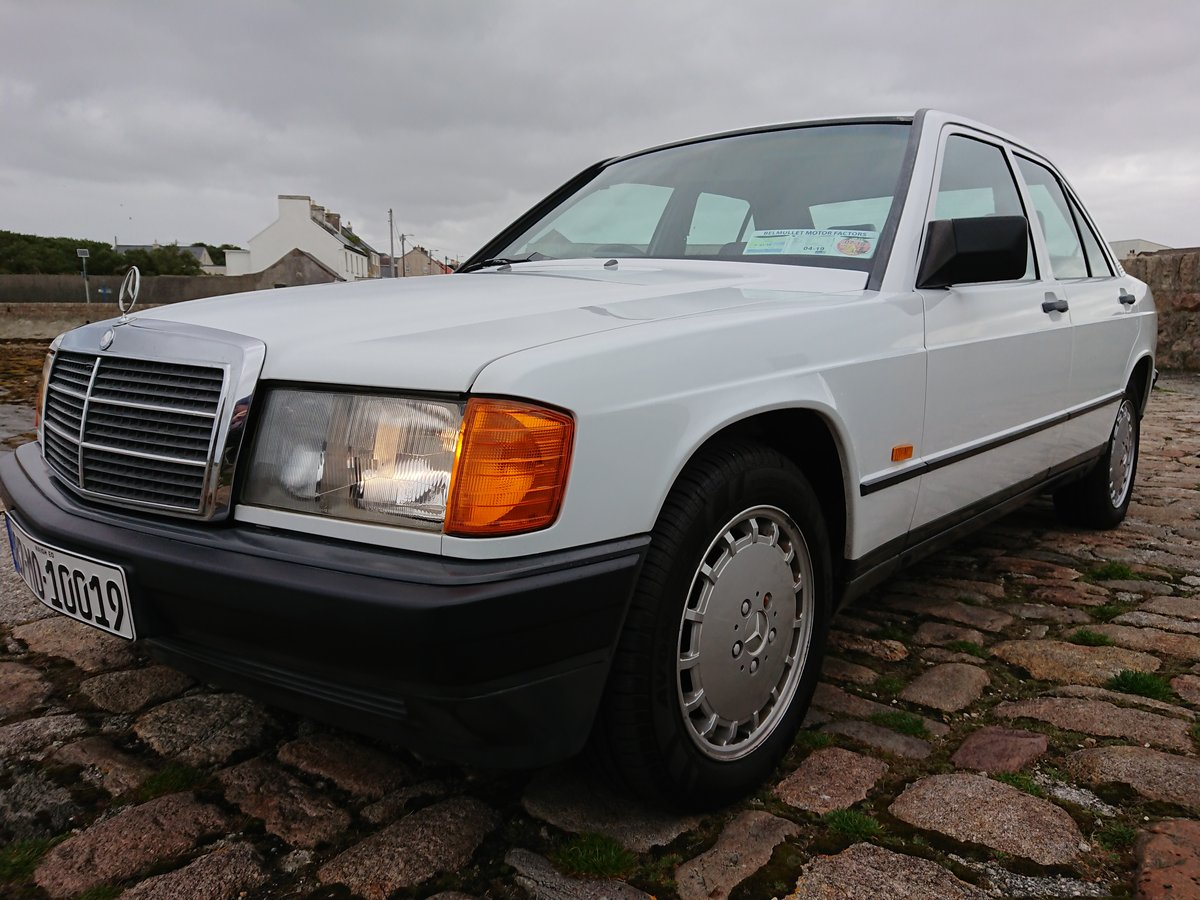 1987 Mercedes 190E 2.6 Manual 166 Bhp 91500 Miles FSH For Sale (picture 6 of 6)