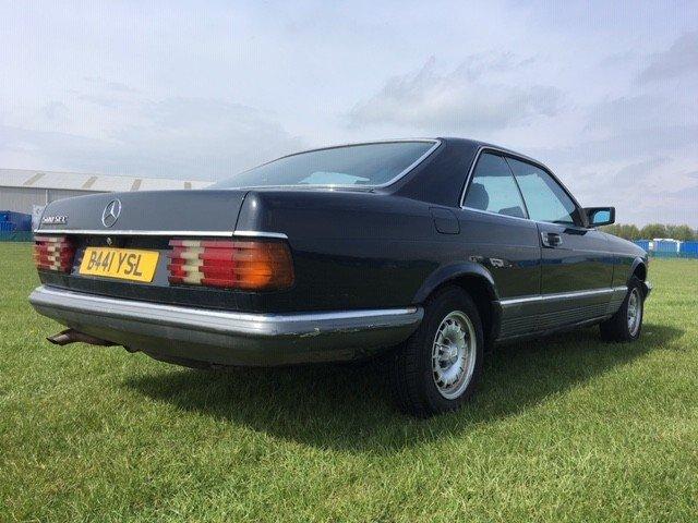 1984 Mercedes 500 SEC LHD at Morris Leslie Auction 25th May SOLD by Auction (picture 3 of 6)