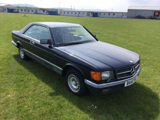1984 Mercedes 500 SEC LHD at Morris Leslie Auction 25th May SOLD by Auction (picture 4 of 6)