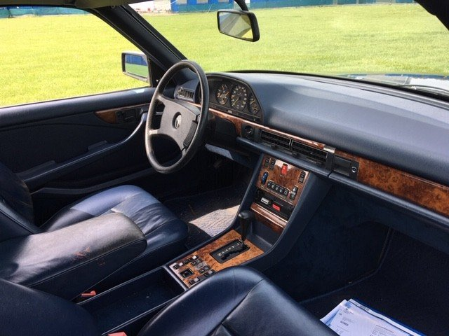 1984 Mercedes 500 SEC LHD at Morris Leslie Auction 25th May SOLD by Auction (picture 6 of 6)