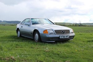 1990 Mercedes 300 SL-24 Auto at Morris Leslie Auction 25th May SOLD by Auction