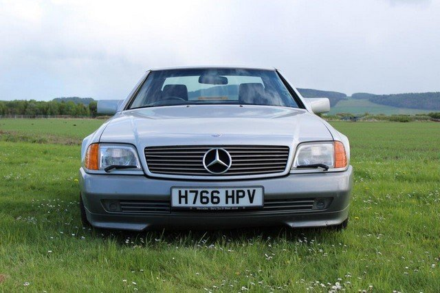 1990 Mercedes 300 SL-24 Auto at Morris Leslie Auction 25th May SOLD by Auction (picture 2 of 6)