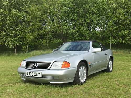 1994 Mercedes SL280 Auto at Morris Leslie Auction 17th August For Sale by Auction (picture 1 of 6)