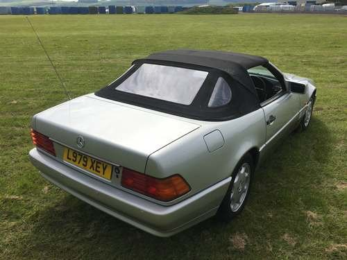 1994 Mercedes SL280 Auto at Morris Leslie Auction 17th August For Sale by Auction (picture 2 of 6)
