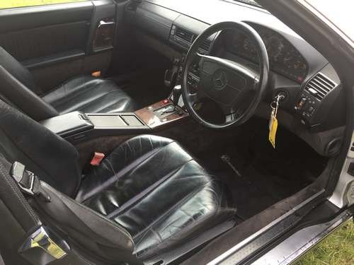1994 Mercedes SL280 Auto at Morris Leslie Auction 17th August For Sale by Auction (picture 3 of 6)