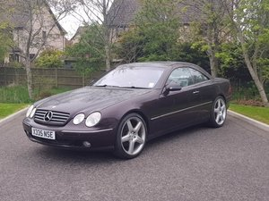 2000 Mercedes CL500 at Morris Leslie Auction 25th May For Sale by Auction