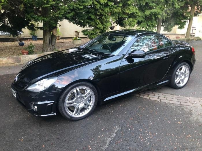 £21,500 : 2009 Model MERCEDES SLK55 5.4 7G-Tronic AMG AUTO For Sale (picture 4 of 6)