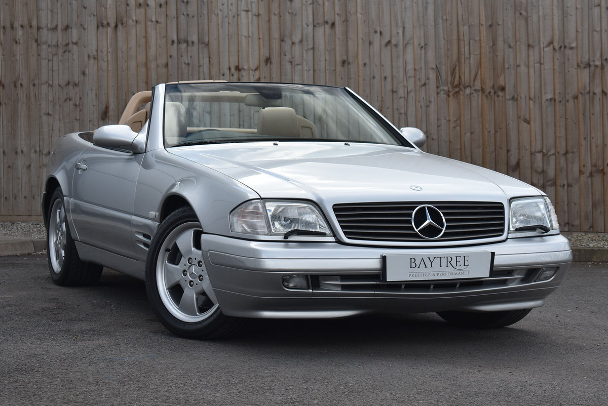 2000 Mercedes-Benz SL Class 3.2 SL320 2dr For Sale (picture 1 of 6)