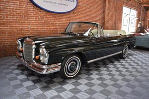 1967 Mercedes 250SE Convertible = Green(~)Tan $109.5k For Sale