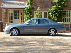 2004 Mercedes W220 S500 Very Low Mileage Full History Superb Car For Sale