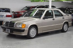 1986 Mercedes190E 2.3-16 = 5 speed Manual Gold $22.9k For Sale