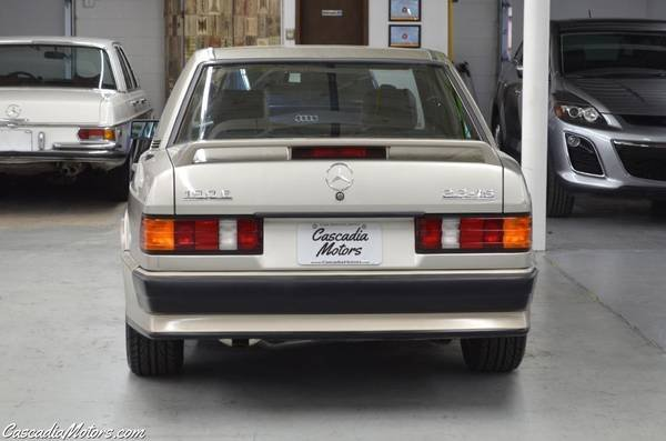 1986 Mercedes190E 2.3-16 = 5 speed Manual Gold $22.9k For Sale (picture 3 of 6)