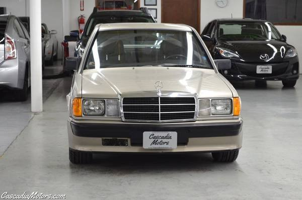 1986 Mercedes190E 2.3-16 = 5 speed Manual Gold $22.9k For Sale (picture 4 of 6)