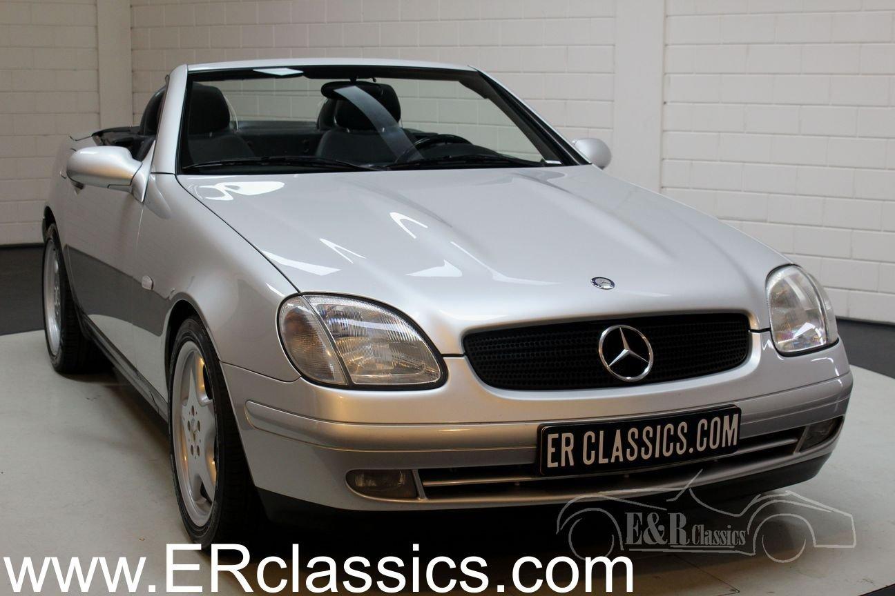 Mercedes-Benz SLK 200 cabriolet 1998 only 98421 KM For Sale (picture 1 of 6)
