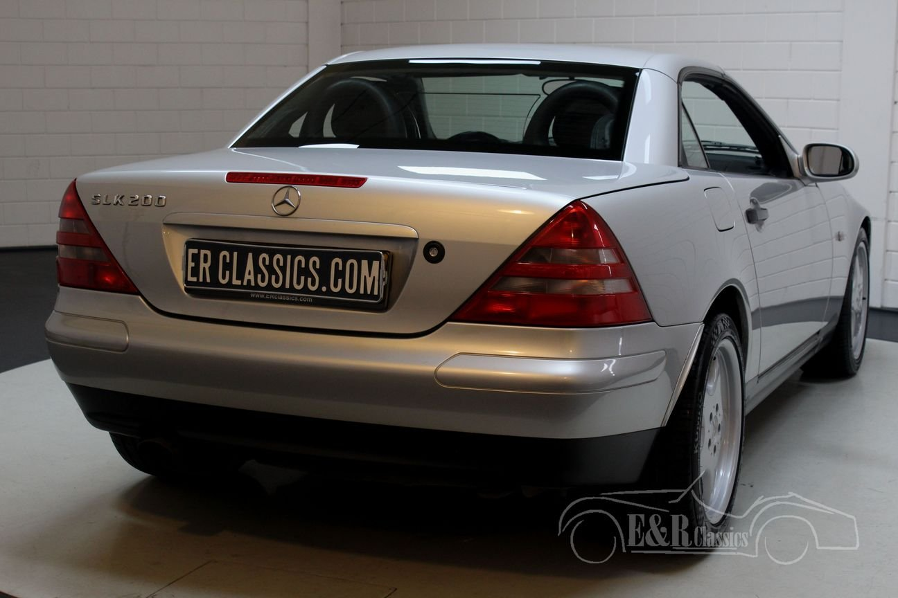 Mercedes-Benz SLK 200 cabriolet 1998 only 98421 KM For Sale (picture 6 of 6)