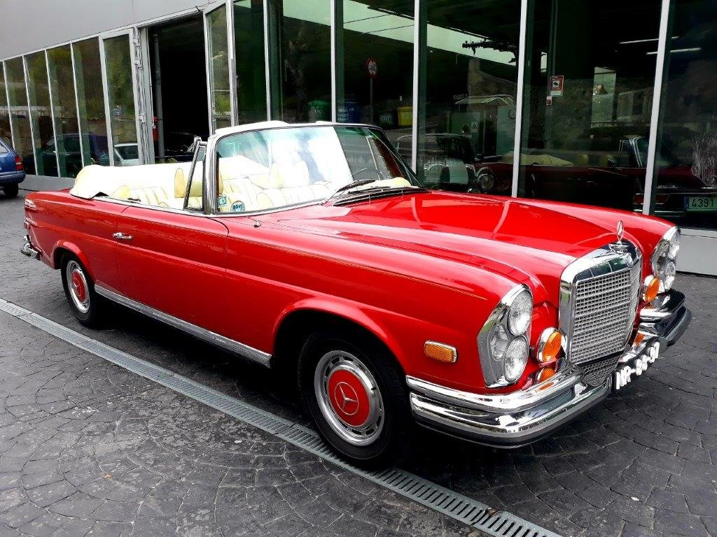 1971 Mercedes-Benz 280SE 3.5 W111 Price reduced to 199.000€ For Sale (picture 1 of 6)
