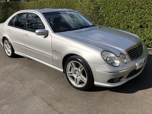 2003 Mercedes E55 AMG For Sale by Auction