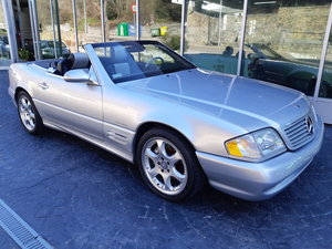 2002 Mercedes 500SL Silver Arrow R129 For Sale
