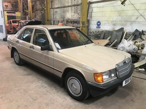 1985 mercedes 190d.2.0 1 of 3 on the road,low mile