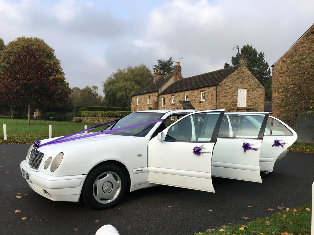 1998 Mercedes Wedding Limousine For Sale (picture 2 of 6)