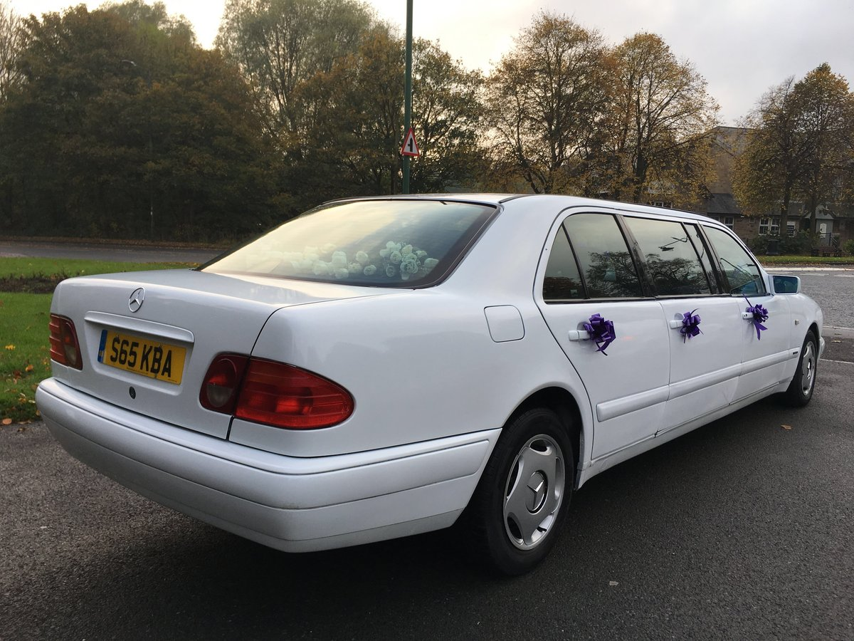 1998 Mercedes Wedding Limousine For Sale (picture 3 of 6)