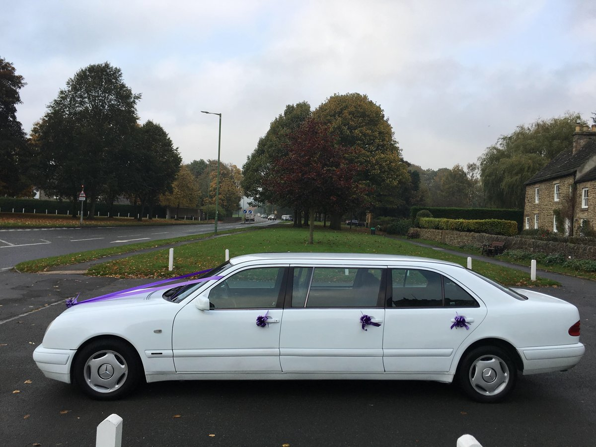 1998 Mercedes Wedding Limousine For Sale (picture 6 of 6)