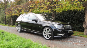 2011 MERCEDES C220 CDI BLUEFFICIENCY SPORT EDITION125 ESTATE