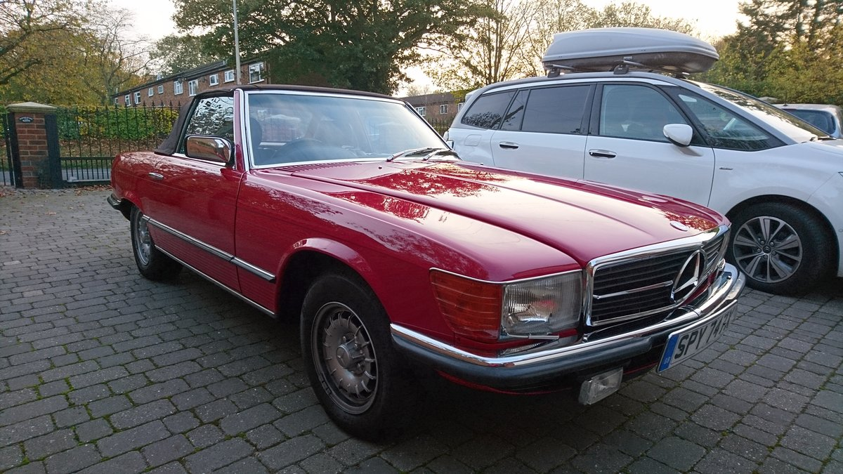 1982 Classic R107 Mercedes 280 SL For Sale (picture 2 of 5)