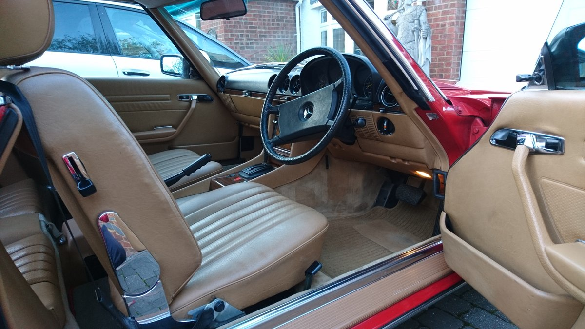 1982 Classic R107 Mercedes 280 SL For Sale (picture 4 of 5)