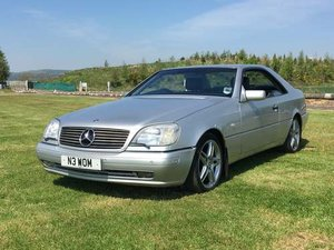1997 Mercedes CL420 at Morris Leslie Auction 17th August