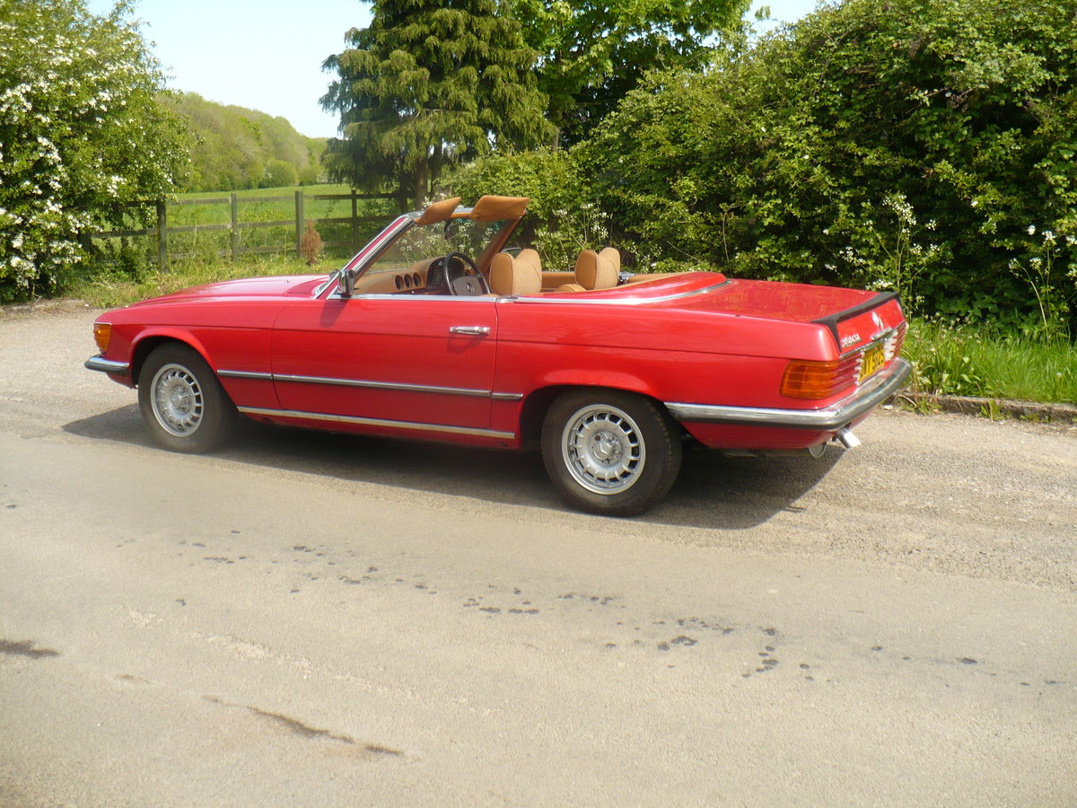 mercedes 350 sl 1978 SOLD (picture 3 of 6)