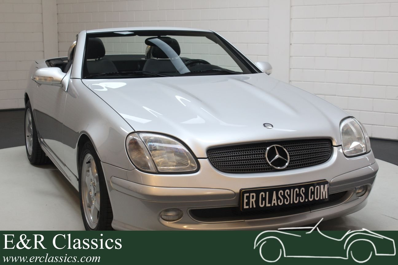 Mercedes-Benz SLK200 2000 only 57784 km For Sale (picture 1 of 6)