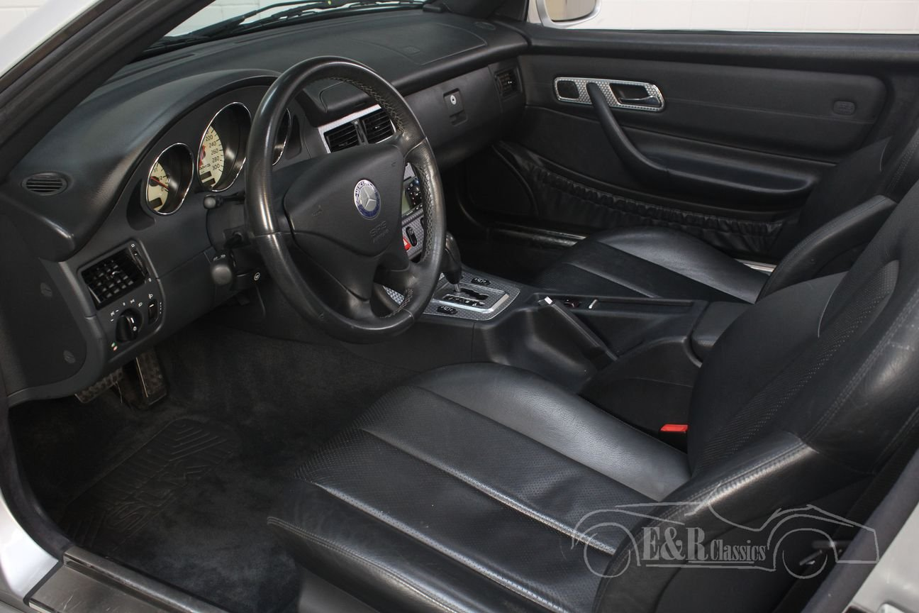 Mercedes-Benz SLK200 2000 only 57784 km For Sale (picture 3 of 6)