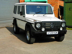 1989 MERCEDES-BENZ G-WAGEN 300 GD For Sale by Auction