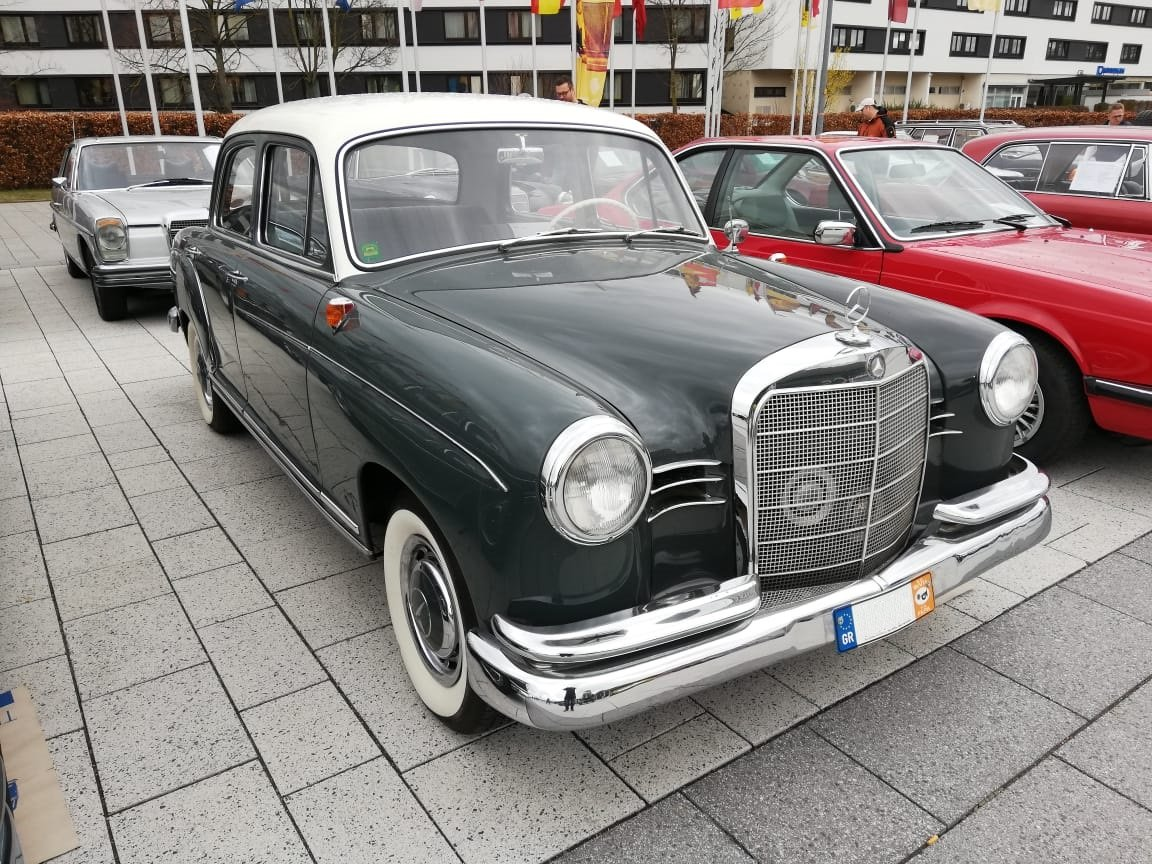1962 Mercedes-Benz 180 C Ponton, restored For Sale (picture 1 of 6)