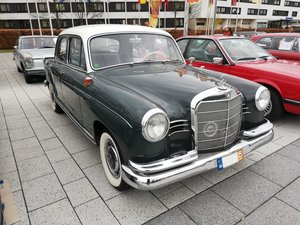 1962 Mercedes-Benz 180 C Ponton, restored