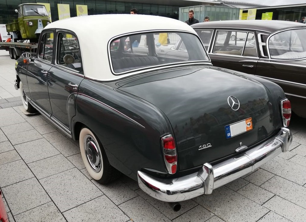 1962 Mercedes-Benz 180 C Ponton, restored For Sale (picture 2 of 6)