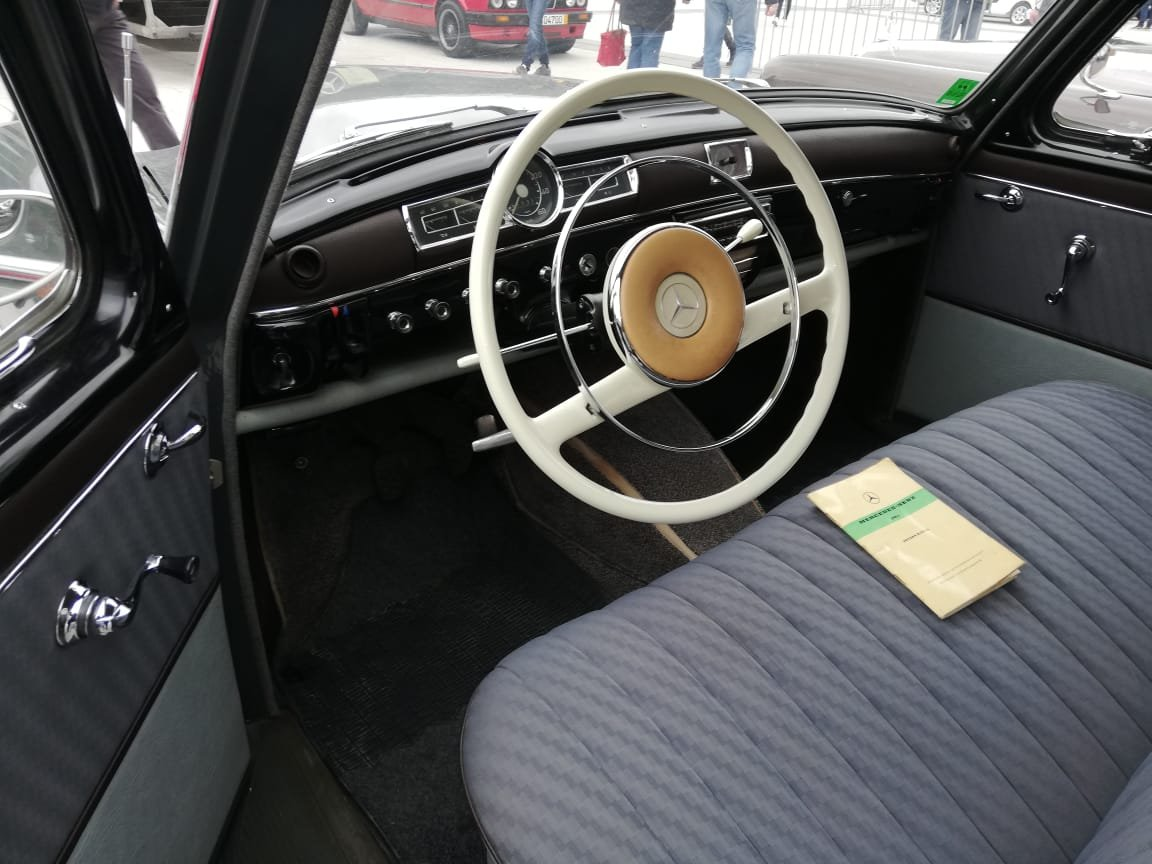 1962 Mercedes-Benz 180 C Ponton, restored For Sale (picture 4 of 6)