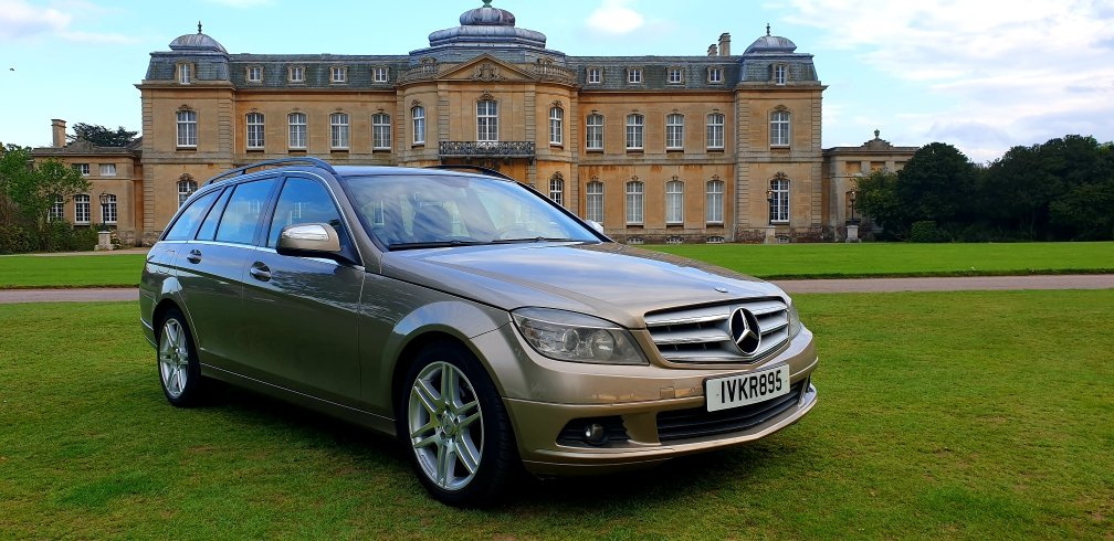 2008 LHD  MERCEDES C200 AUTOMATIC CDI ESTATE LEFT HAND DRIVE For Sale (picture 1 of 6)
