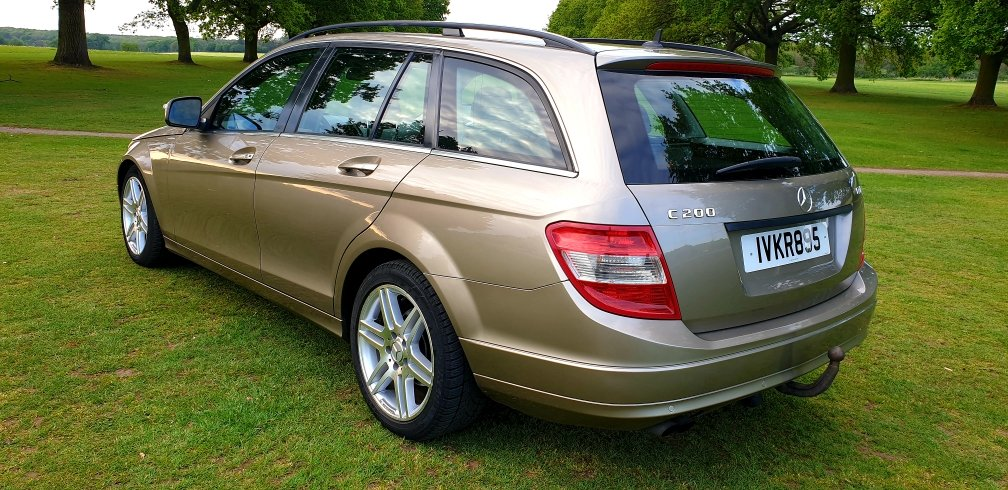 2008 LHD  MERCEDES C200 AUTOMATIC CDI ESTATE LEFT HAND DRIVE For Sale (picture 2 of 6)