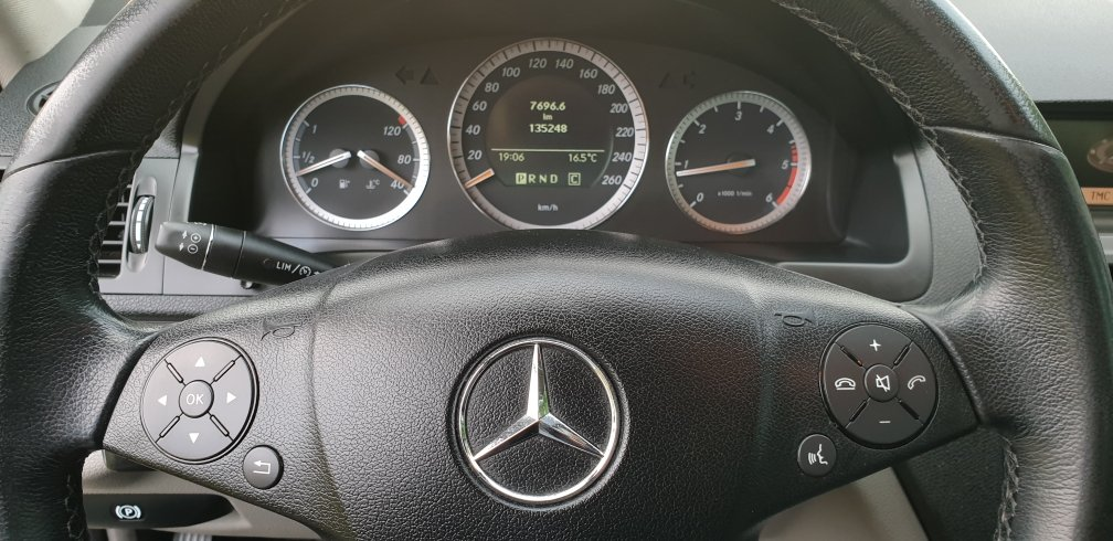 2008 LHD  MERCEDES C200 AUTOMATIC CDI ESTATE LEFT HAND DRIVE For Sale (picture 3 of 6)
